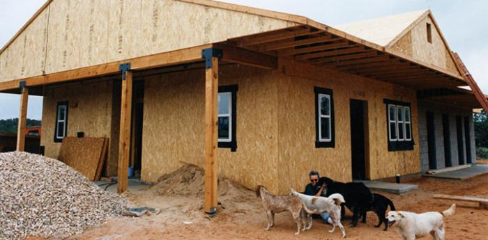 New buildings at Best Friends Animal Sanctuary, the leader of the no-kill movement
