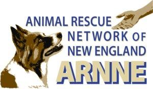 Animal Rescue Network of New England ARNNE (Pelham, New Hampshire) logo with dog