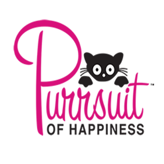 A Kitty's Purrsuit of Happiness (Spring Branch, Texas) logo with cat over text