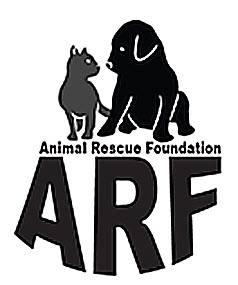 Animal Rescue Foundation of Bartlesville (Bartlesville, Oklahoma) ARF logo with dog, cat