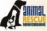 Animal Rescue New Orleans ARNO (New Orleans, Louisiana) logo with dog, cat