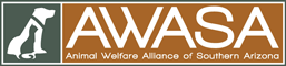 Animal Welfare Alliance of Southern Arizona (AWASA) (Tucson, Arizona) logo with cat and dog