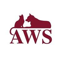 Animal Welfare Society AWS (West Kennebunk, Maine) logo with cat, dog