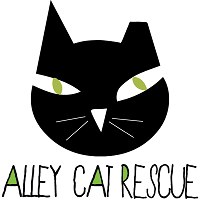 Alley Cat Rescue Inc. logo with cat