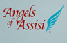 Angels of Assisi (Roanoke, Virginia) logo with wings
