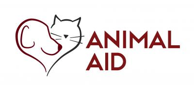 Animal Aid (Portland, Oregon) logo with dog and cat