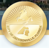 Animal Care & Protective Services (Jacksonville, Florida) logo of gold coin