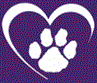 Animal Compassion Team of California (Fresno, California) logo with heart, paw print