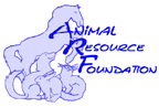 Animal Resource Foundation (Chester, Maryland) logo with horse, cat, dog