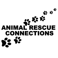 Animal Rescue Connections (Bulverde, Texas) logo with paw prints