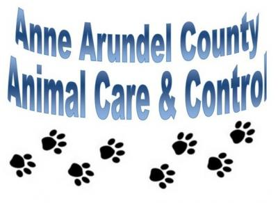 Anne Arundel County Animal Care & Control (Millersville, Maryland) logo with text and pawprints