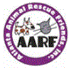 Atlanta Animal Rescue Friends (Stone Mountain, Georgia) logo with AARF and cat and dog