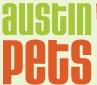 Austin Pets Alive! in Texas logo that says 'Austin pets'