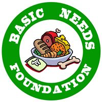 Basic Needs Foundation, Inc. (Carson, California) logo with bowl of food