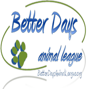 Better Days Animal League (Shippensburg, Pennsylvania) logo with paw print
