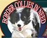 Border Collies In Need, Inc. (NKLA) (San Pedro, California) logo with photo of border collie