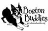 Boston Buddies (Huntington Beach, California) logo with Boston terrier