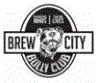 "Brew City Bully Club (Greendale, Wisconsin) logo with pit bull in center and ""Changing Minds, Saving Lives"" tagline"
