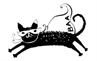 Brooklyn Animal Action (Brooklyn, New York) logo is a flying cat wearing a mask and cape