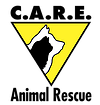 Castaway Animals Rescue Effort (Springfield, Missouri) logo has a cat profile inside a dog profile in an inverted triangle