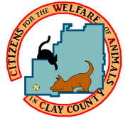 Citizens for the Welfare of Animals in Clay County (Lineville, Alabama) logo