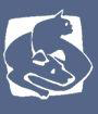 Capital Area Humane Society (Lansing, Michigan) logo of dog and cat
