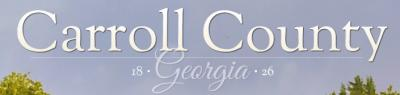 Carroll County Animal Shelter (Carrollton, Georgia) logo has Carroll County, Georgia, heading