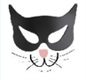 Cat Crusaders (Wesley Chapel, Florida) logo with cat face