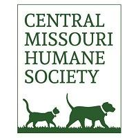 Central Missouri Humane Society (Columbia, Missouri) logo with a cat and dog