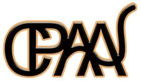 "Central Pennsylvania Animal Alliance (Mechanicsburg, Pennsylvania) logo with ""CPAA"" in black with a gold outline"
