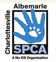 Charlottesville-Albemarle SPCA (Charlottesville, Virginia) logo of hand and pawprint