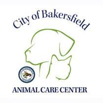City of Bakersfield Animal Care Center (Bakersfield, California) logo has a dog head and cat head outlined in green