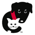 Community Animal Rescue Effort (C.A.R.E.) (Evanston, Illinois) black dog holding white cat logo