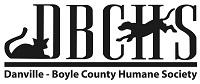 Danville-Boyle County Humane Society (Danville, Kentucky) logo of dog and cat