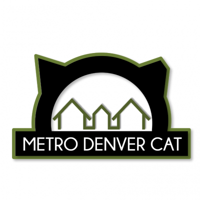 Denver Animal Foundation (Denver, Colorado) logo houses in cat head