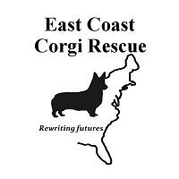 East Coast Corgi Rescue (Washington, District of Columbia) logo of corgi and East Coast USA
