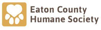 Eaton County Humane Society  (Olivet, Michigan) logo of paw and heart