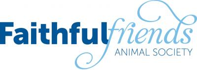 Faithful Friends Animal Society (Wilmington, Delaware) blue logo