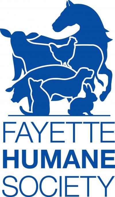 Fayette Regional Humane Society (Washington Court House, Ohio) logo dog cat bunny farm animals