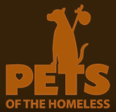 Feeding Pets of the Homeless (Carson City, Nevada) logo with dog