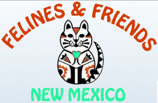 Felines & Friends New Mexico (Santa Fe, New Mexico) logo with cat
