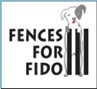 Fences for Fido (Portland, Oregon) logo of dog behind fence