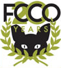 Feral Cat Coalition of Oregon (Portland, Oregon) logo of FCCO, 20 Years, black cat
