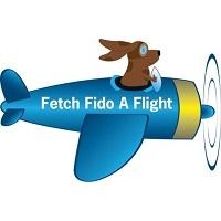 Fetch Fido a Flight (Edmond, Oklahoma) logo of plane with dog