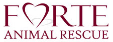 Forte Animal Rescue (Marina del Rey, California) logo with heart