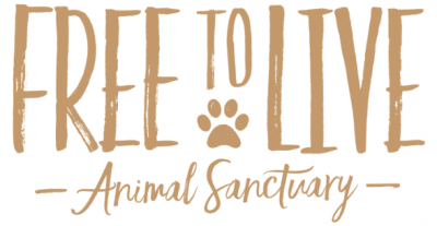 Free to Live Animal Sanctuary (Edmond, Oklahoma) logo with organization name