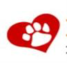 Friends of Homeless Animals (Portsmouth, Rhode Island) logo of red heart and white paw print