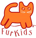 Furkids (Atlanta, Georgia) logo has an orange cat over the name