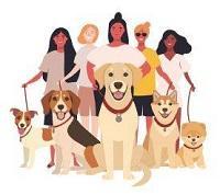 Girls of Dog Rescue (Tustin, California) logo