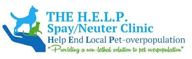 Newnan Coweta Spay Neuter Clinic (Newnan, Georgia) logo is a hand holding a dog and cat next to the org name and taglines